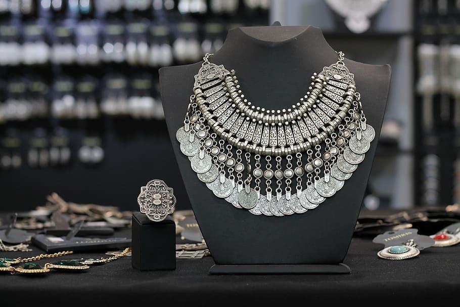 Silver jewelry shop