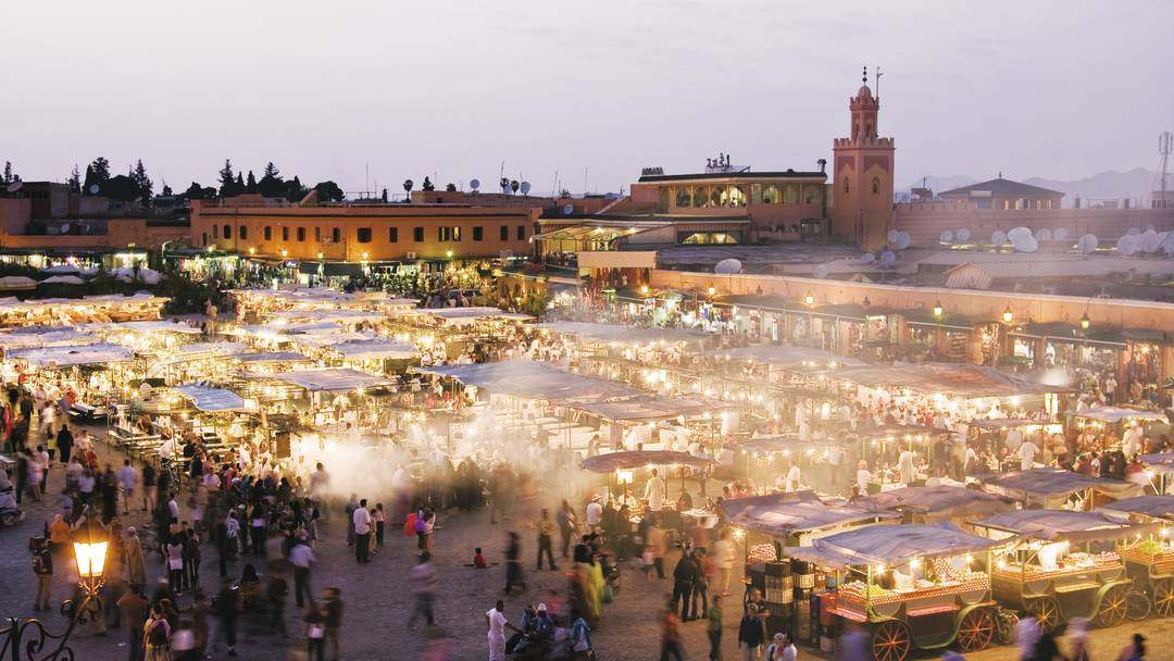 Tourist Morocco: The City of Marrakech
