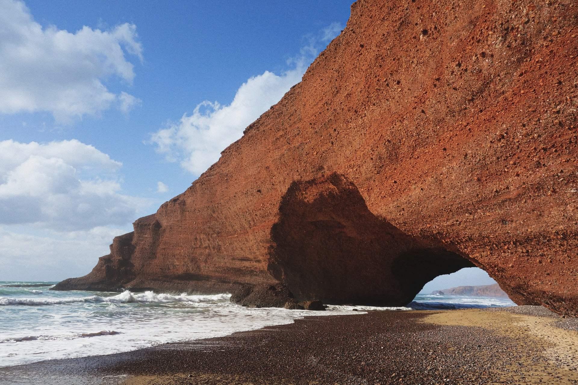 The beach of Legzira