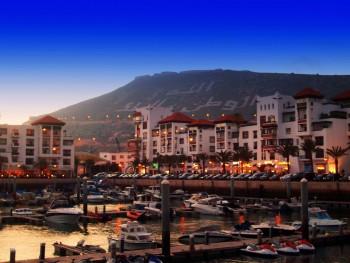La marina , Agadir